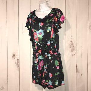 Juicy Couture floral romper sz M Medium